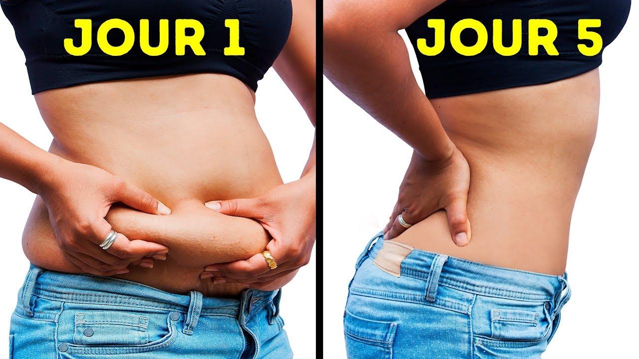 perte de graisse 1 semaine